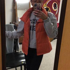 Orange soft Bubble Vest